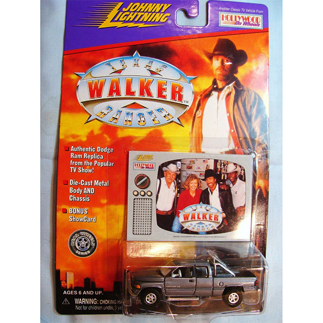 Toy Truck from Walker Texas Ranger