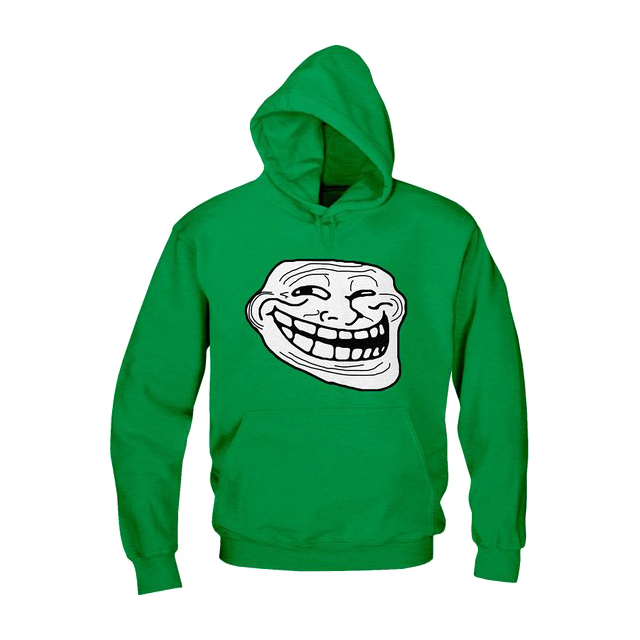Troll Face hoodie