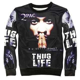 "Tupac ""Thug Life"" Sweater"