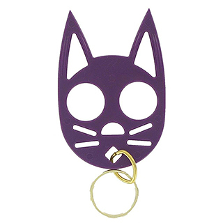 Wild Cat Self Defense Keychain