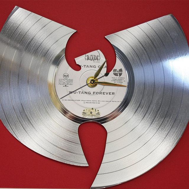Wu-Tang Forever Platinum Record Clock