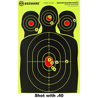 50 Shooting Range Splatter Targets
