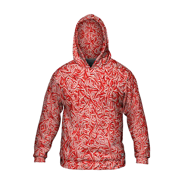 Candy Cane Hoodie