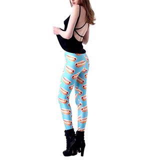 Hot Dog Yoga Pants