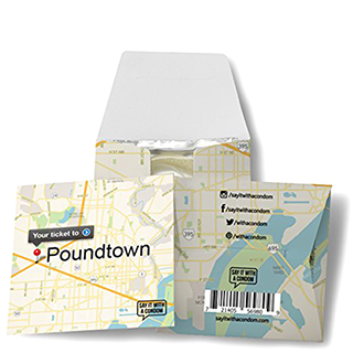 Map to Poundtown condom