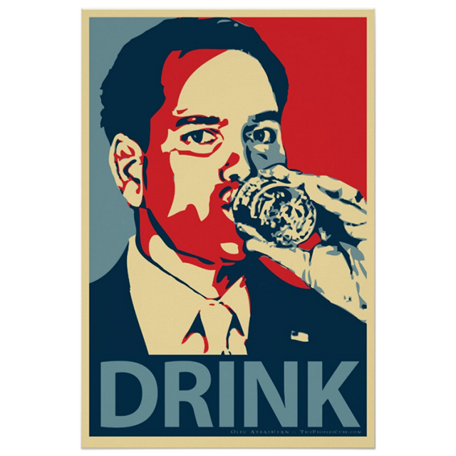 Marco Rubio DRINK poster