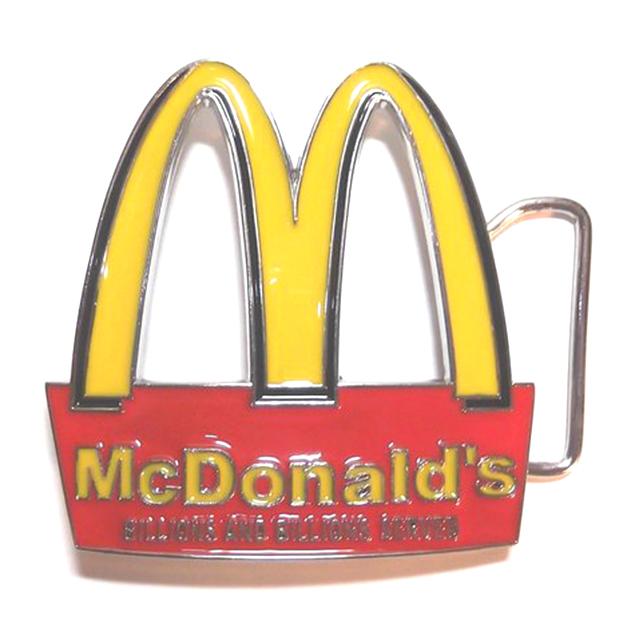McDonald's Belt Buckle