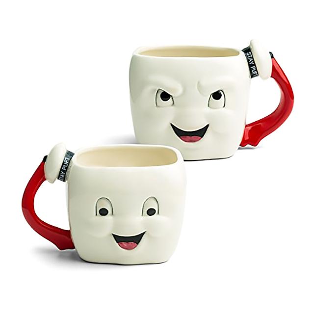 Naughty n Nice Stay Puft Mug