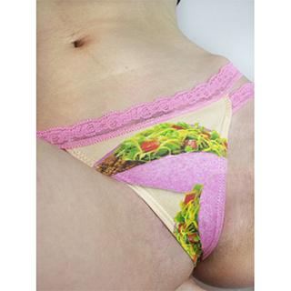 Pink Taco Thong Panties