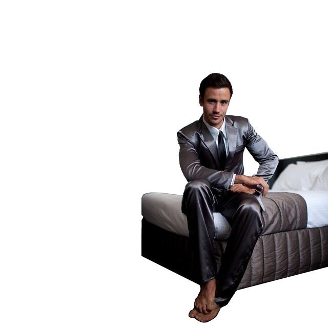 Silk Suit Pajamas