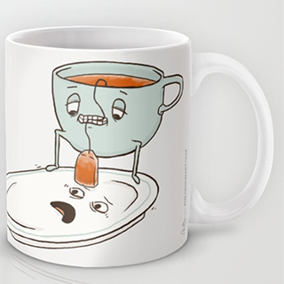 Teabaggin' mug