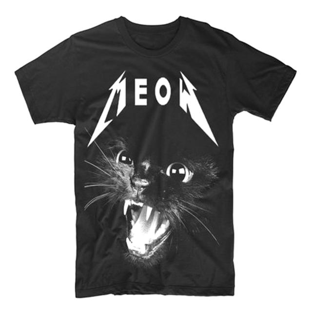 Thrash Metal Black Cat shirt