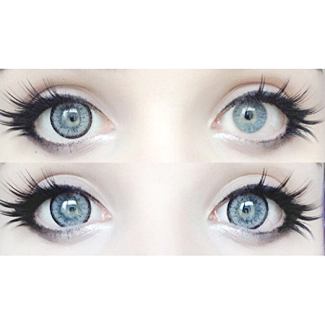Wide-Eyes contact lenses