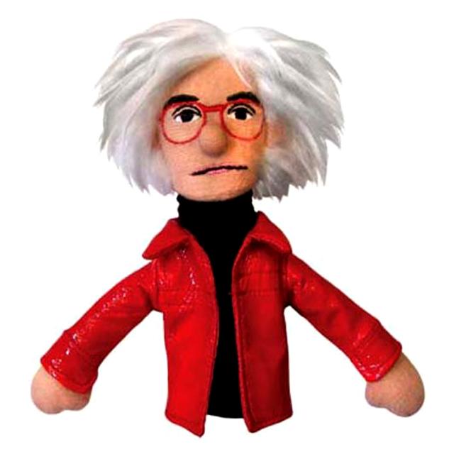 Andy Warhol Finger Puppet Fridge Magnet