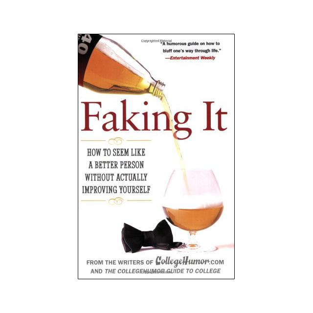 Fake Self Improvement book