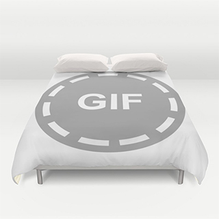 GIF Duvet