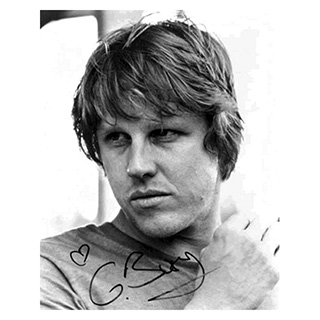 Gary Busey Photo with Pre-Printed Autograph