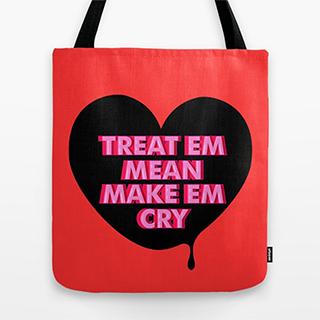 Make Em Cry tote bag