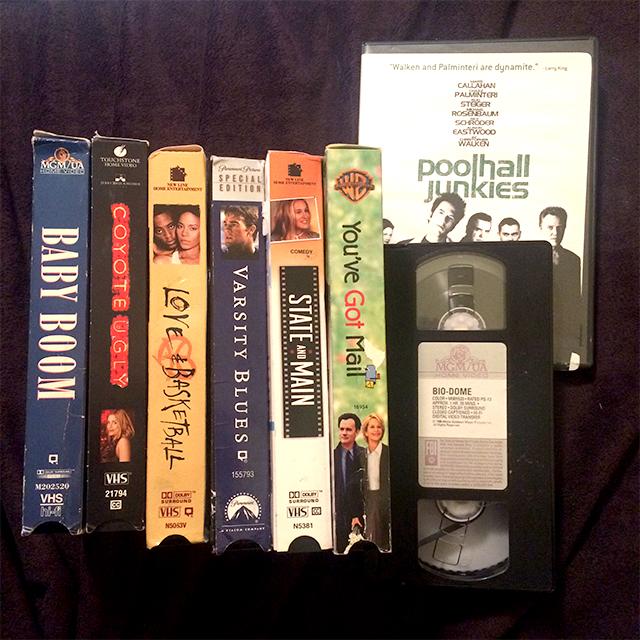 Random Bullshit on VHS (and a DVD)