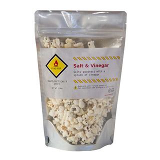 Spicy Salt and Vinegar Popcorn
