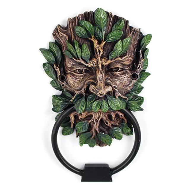 The Green Man door knocker