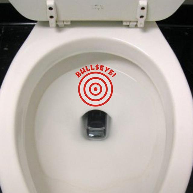 Toilet Target Sticker