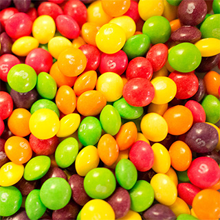 Twenty Five Pounds of Skittles