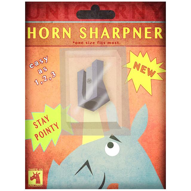 Unicorn Horn Sharpener wall art