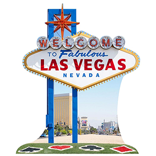 Welcome to Las Vegas Cardboard Cutout