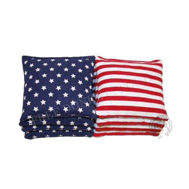 American Flag Cornhole Bags