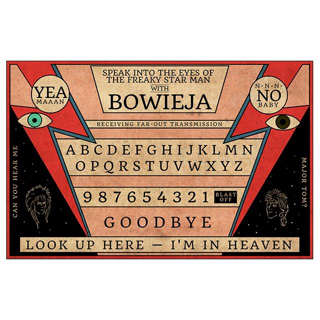 Bowieja: David Bowie Ouija Board