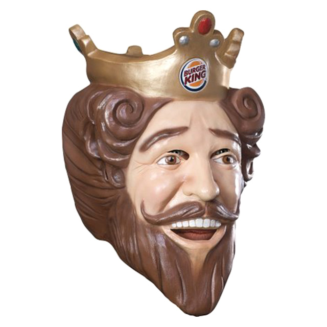 Creepy Burger King Mask
