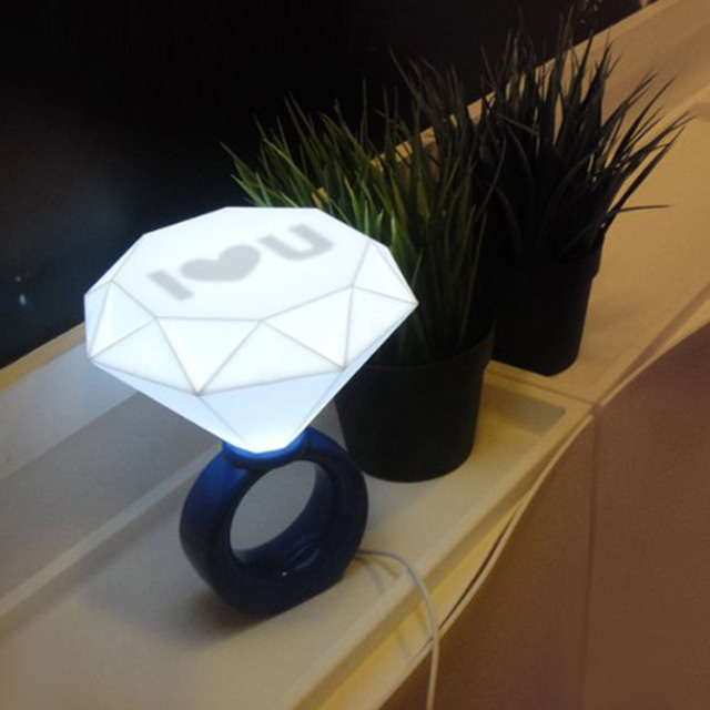Diamond Ring Lamp