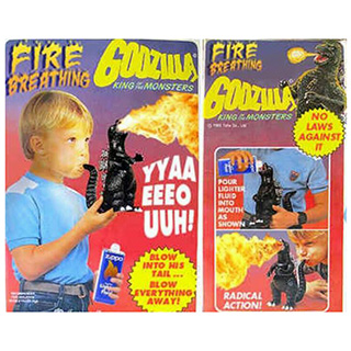 Fire-Breathing Godzilla Toy