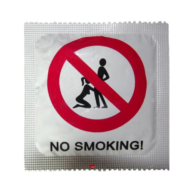 No Smoking Condom