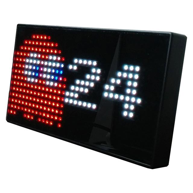 Pac-Man LED Clock