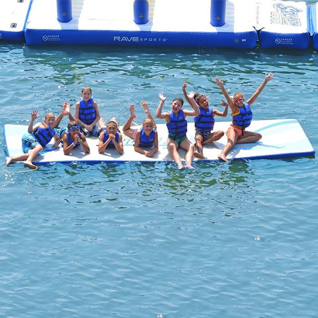 Towable Lake Raft