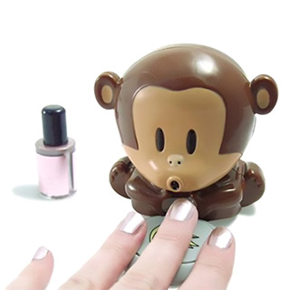 Blowing Monkey Nail Polish Dryer