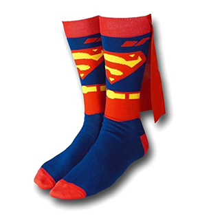 Caped Superman Socks