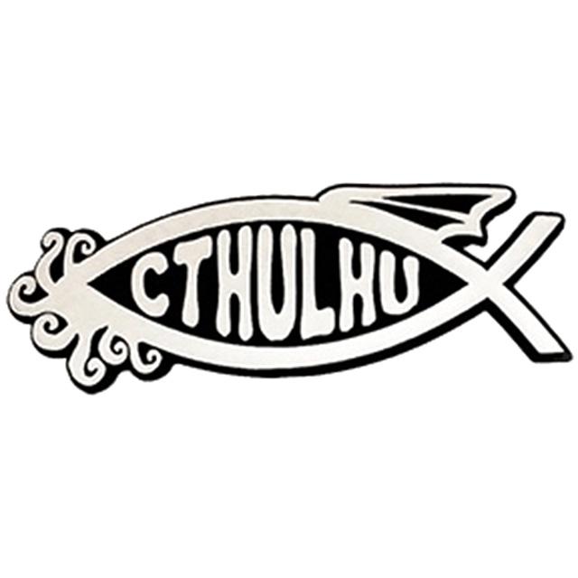 Cthulhu Car Emblem
