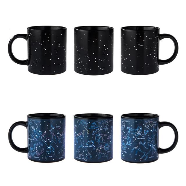 Heat-Activated Constellations Mug