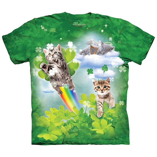 Lucky Clover Kittens Shirt