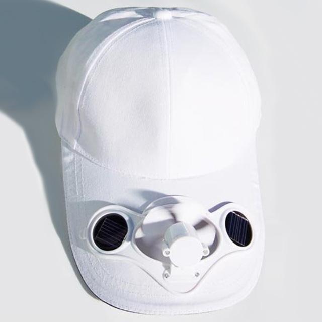 Solar-Powered Fan Hat