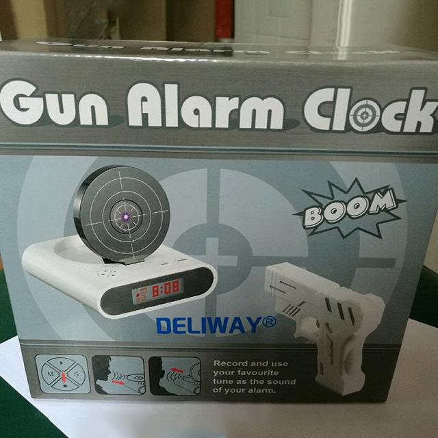 Target Shooting Alarm Clock