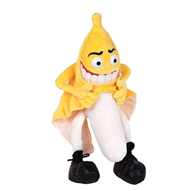 Banana Flasher Plush Doll