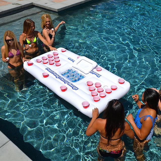 Floating Beer Pong Cooler