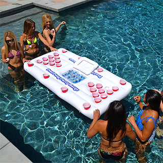 Floating Beer Pong Cooler