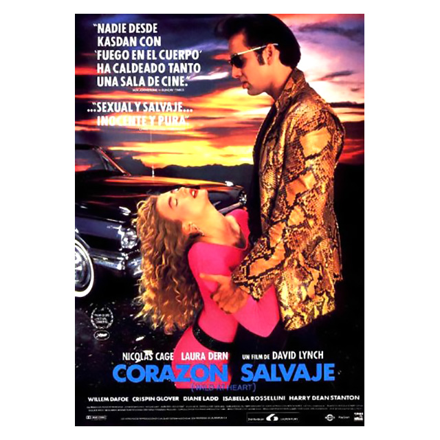 Spanish Poster for Wild at Heart