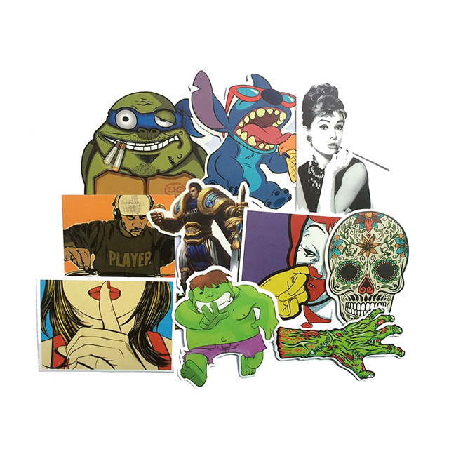 100 Assorted Stickers