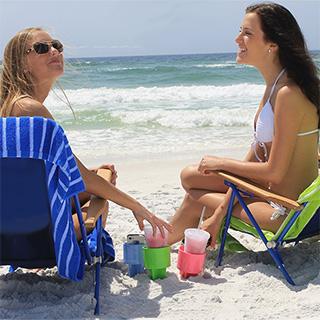 Beach Spike Cup Holders
